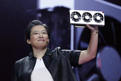 CES 2019: AMD rzuca wyzwanie karcie Nvidia RTX 2080. Oto Radeon VII