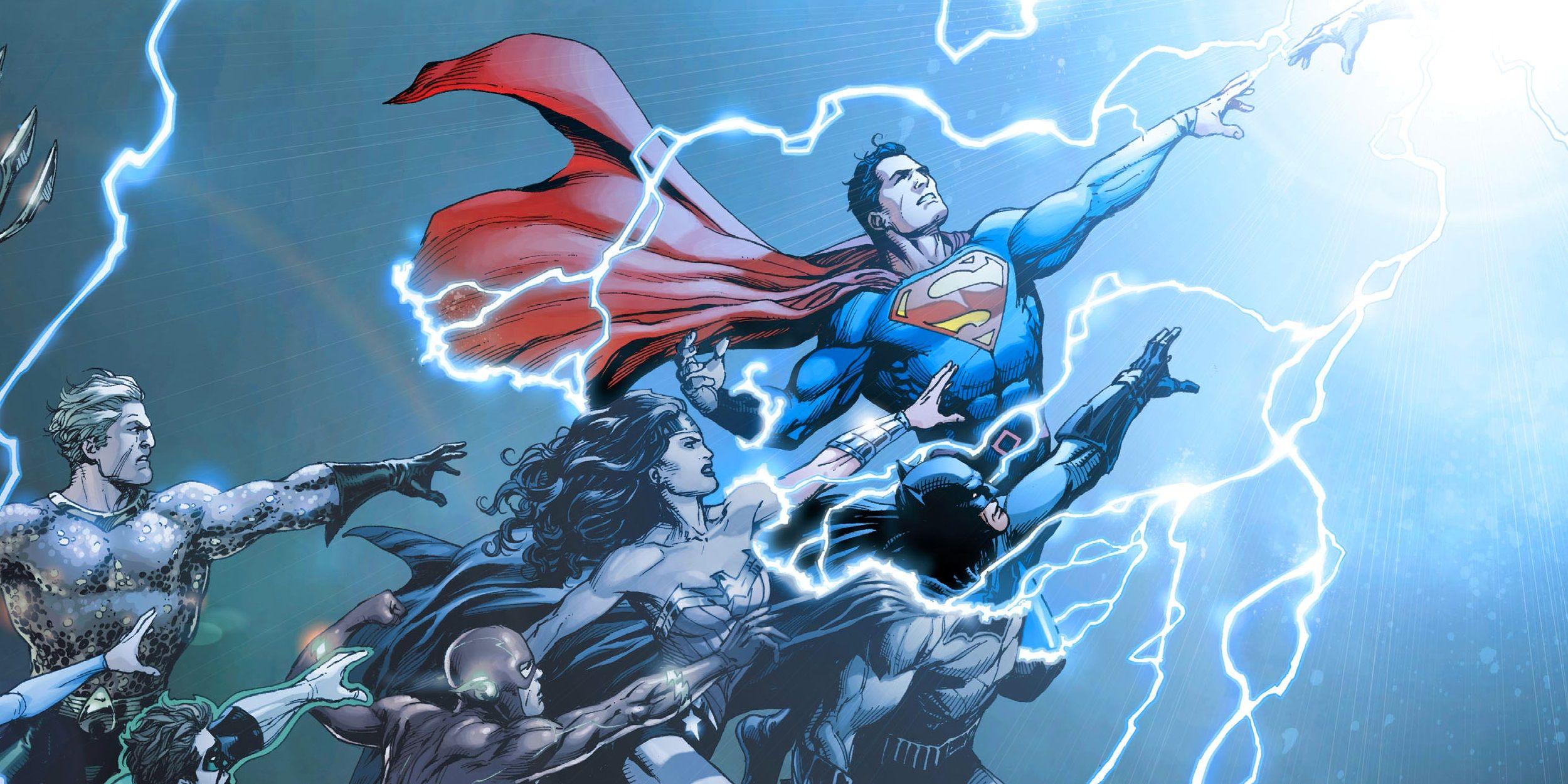 Wieczny życia krąg. Odrodzenie DC Comics