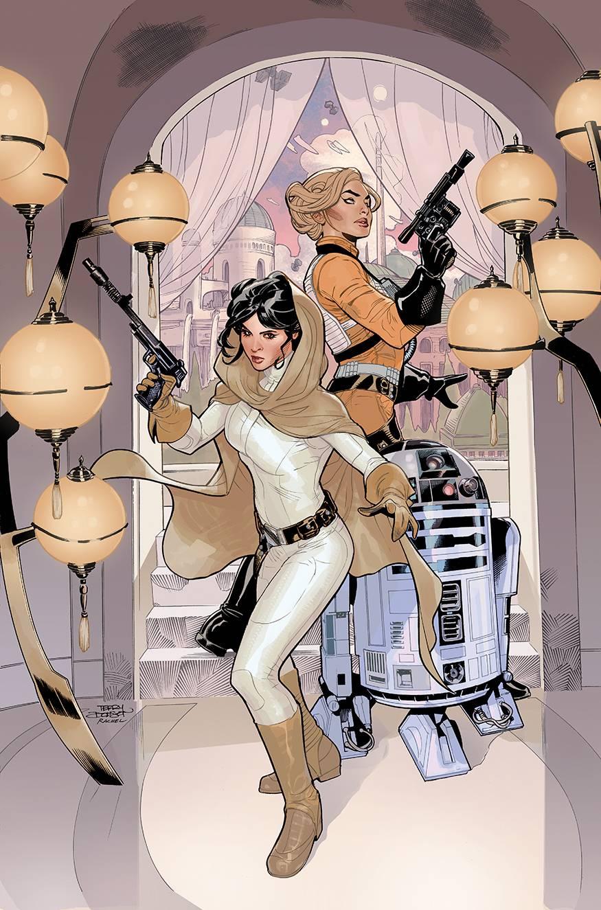 Leia i Evaan - kadr z komiksu