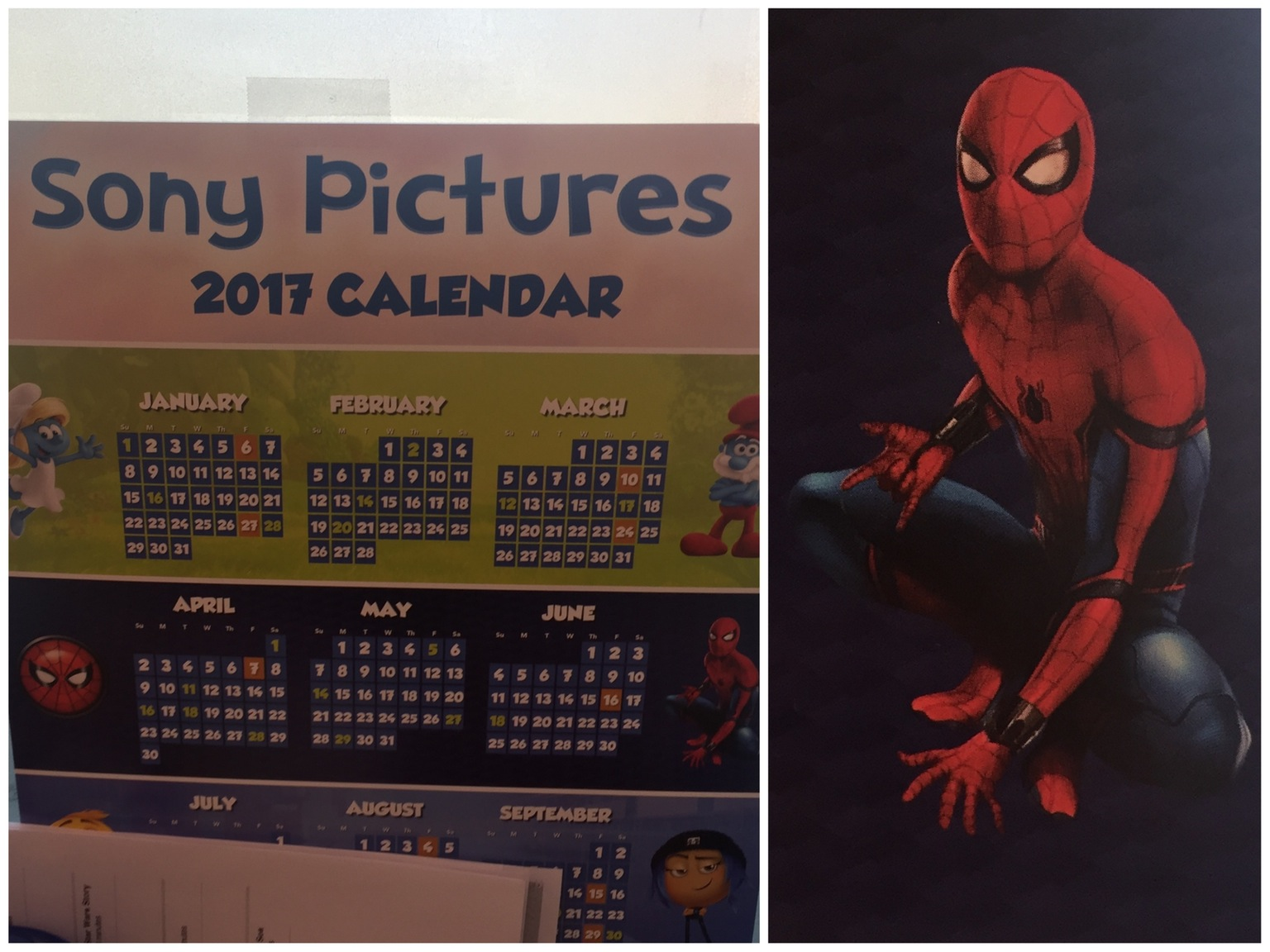 Spider-Man: Homecoming - kalendarz