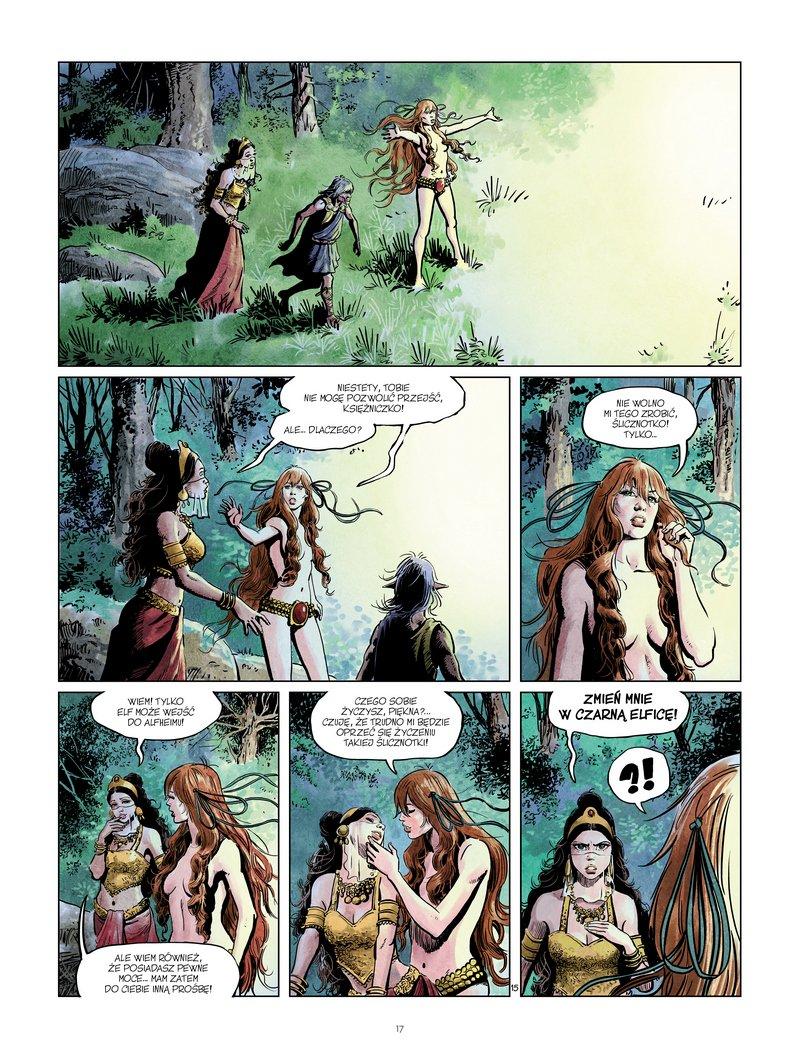 Thorgal - Louve #07. Nidhogg - plansza