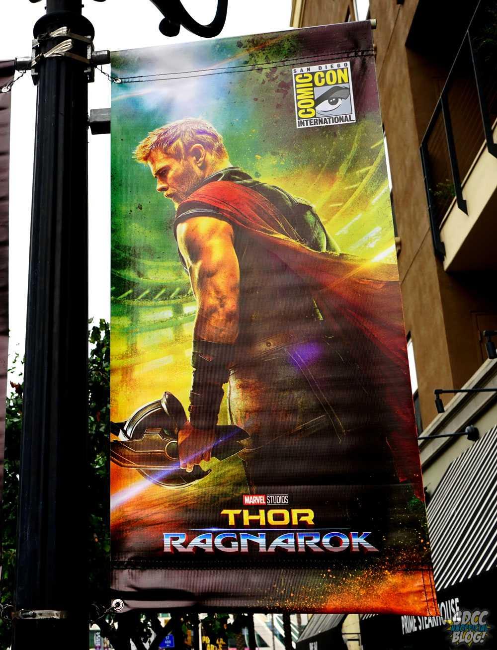 Thor: Ragnarok - baner promocyjny