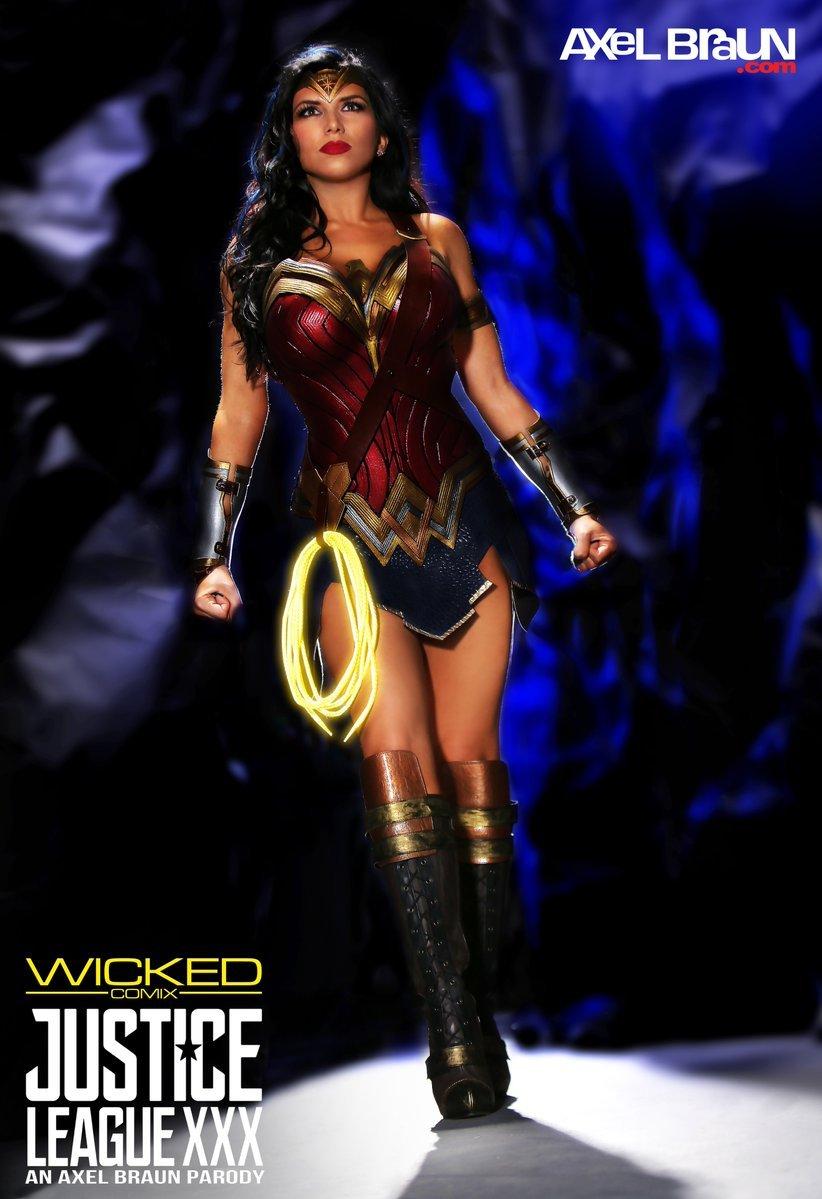 Wonder Woman z Justice League XXX