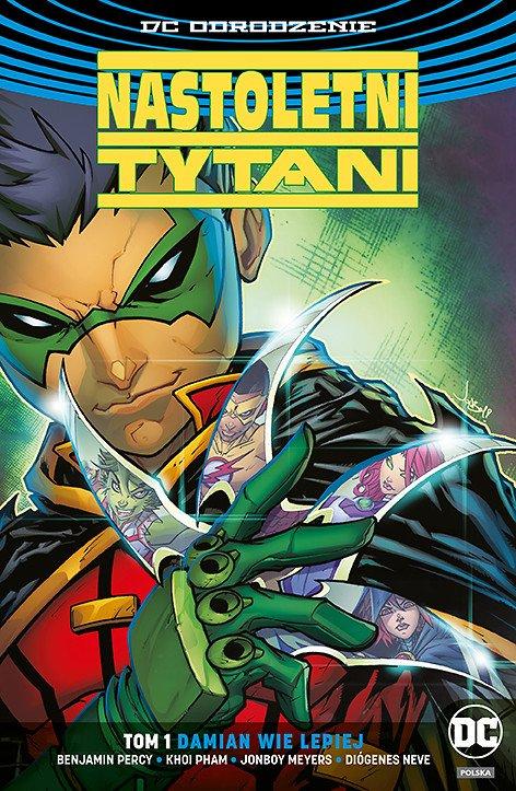 Nastoletni Tytani – Damian wie lepiej, tom 1 - okładka
