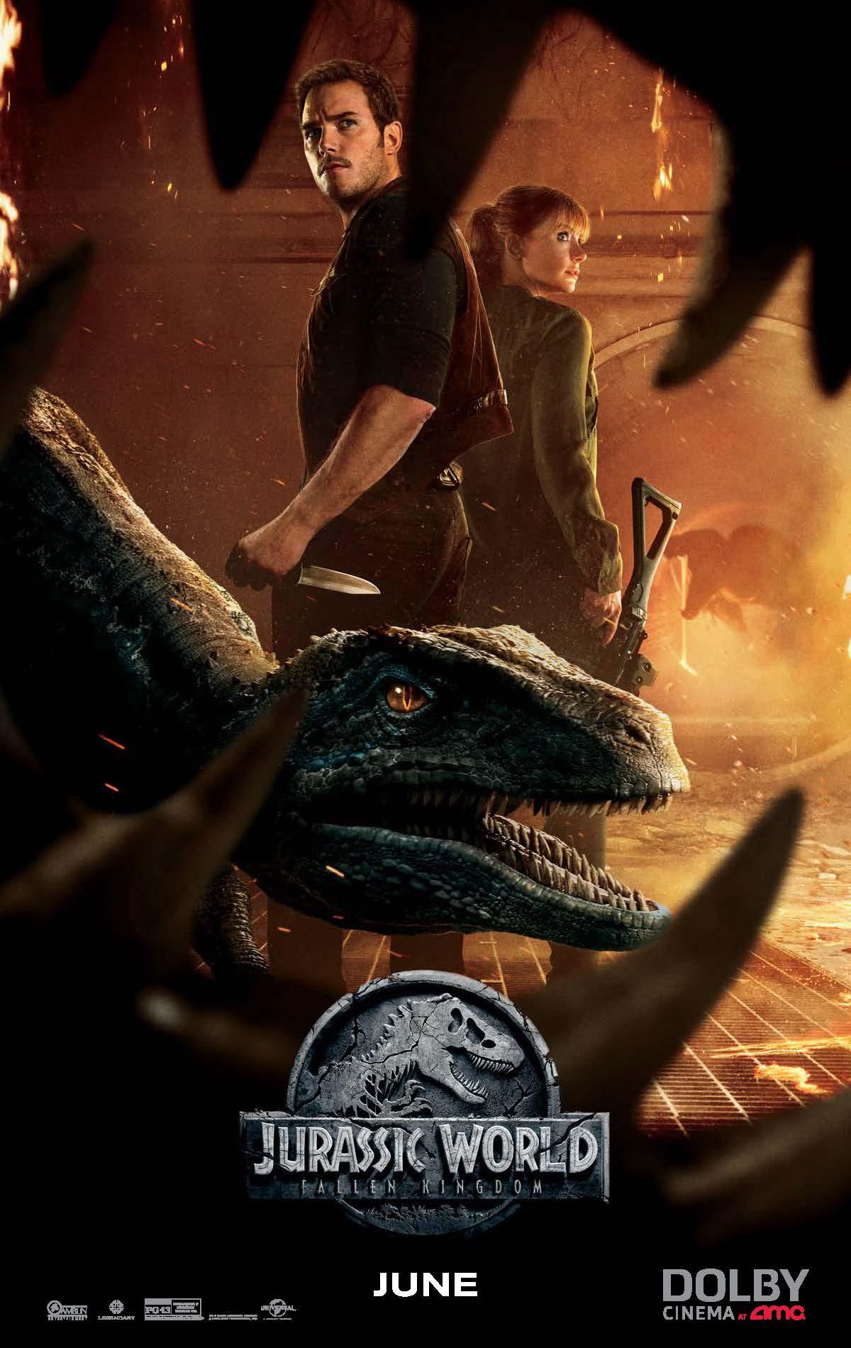 Jurassic World plakat