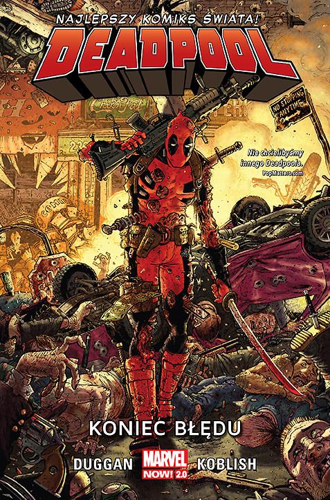 Deadpool – Koniec błędu, tom 2 – okładka