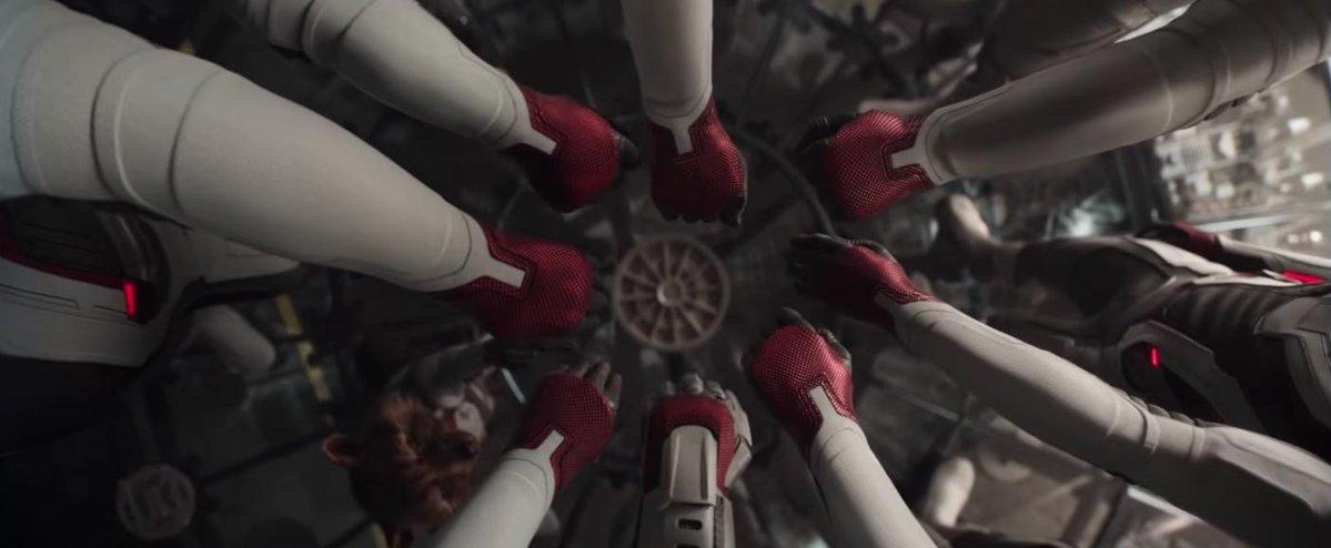 Symbolika początku i zakończenia w MCU - kadr z filmu Avengers: Koniec gry