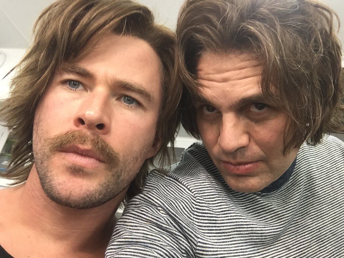 Mark Ruffalo i Chris Hemsworth