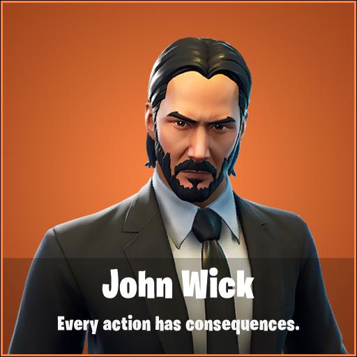 John Wick w Fortnite