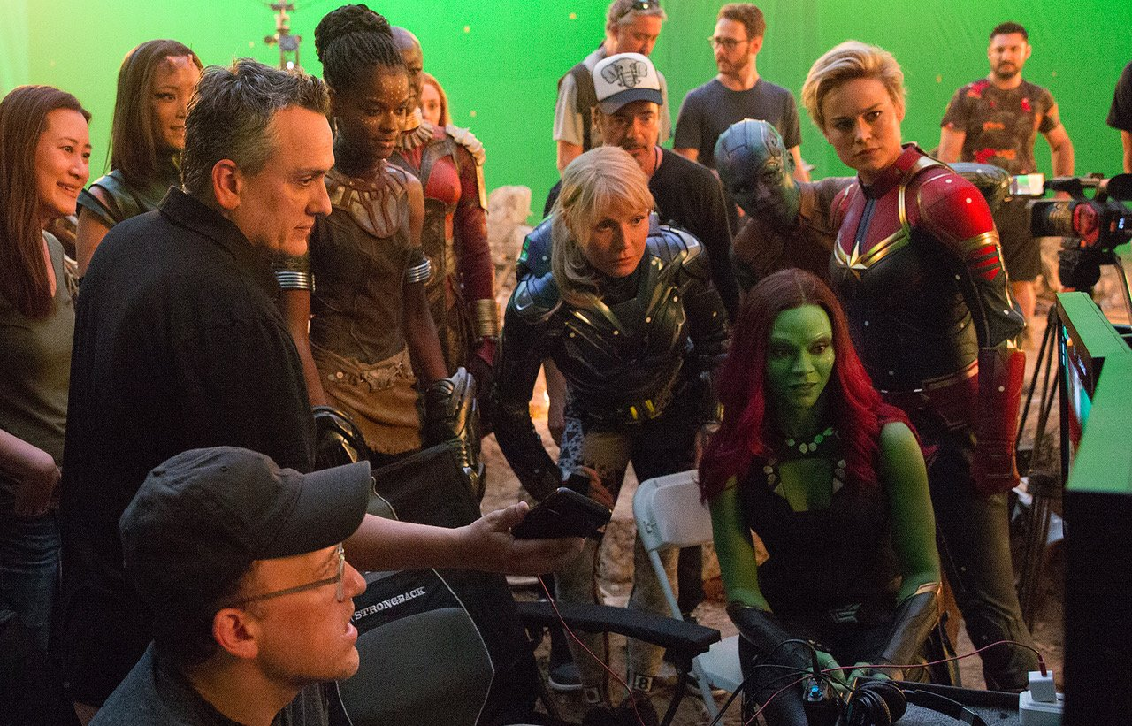 Avengers: Koniec gry - zdjęcie z planu