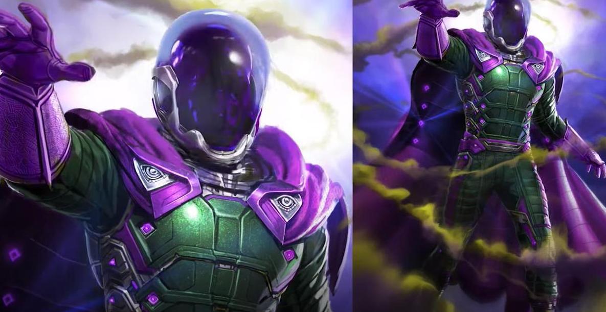 Mysterio - grafiki koncepcyjne