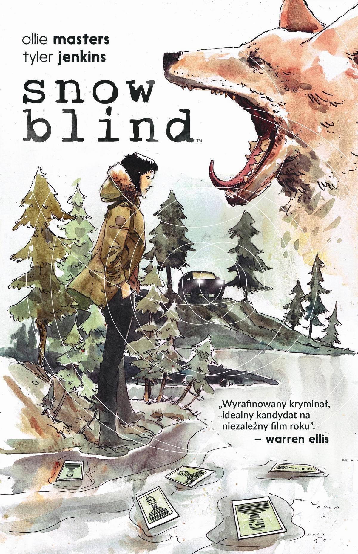 Snow Blind - okładka
