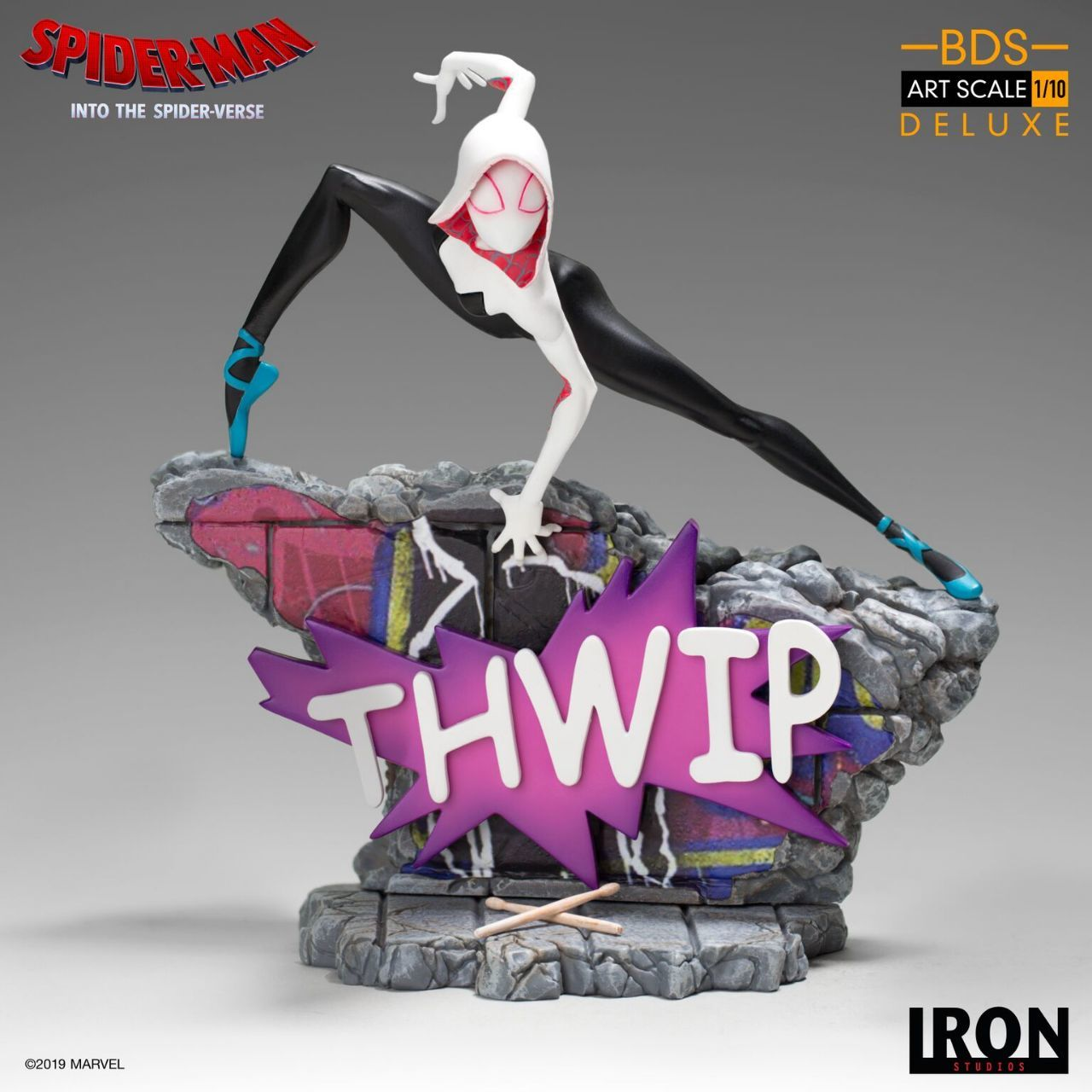 Spider-Man: Uniwersum - figurka Iron Studios