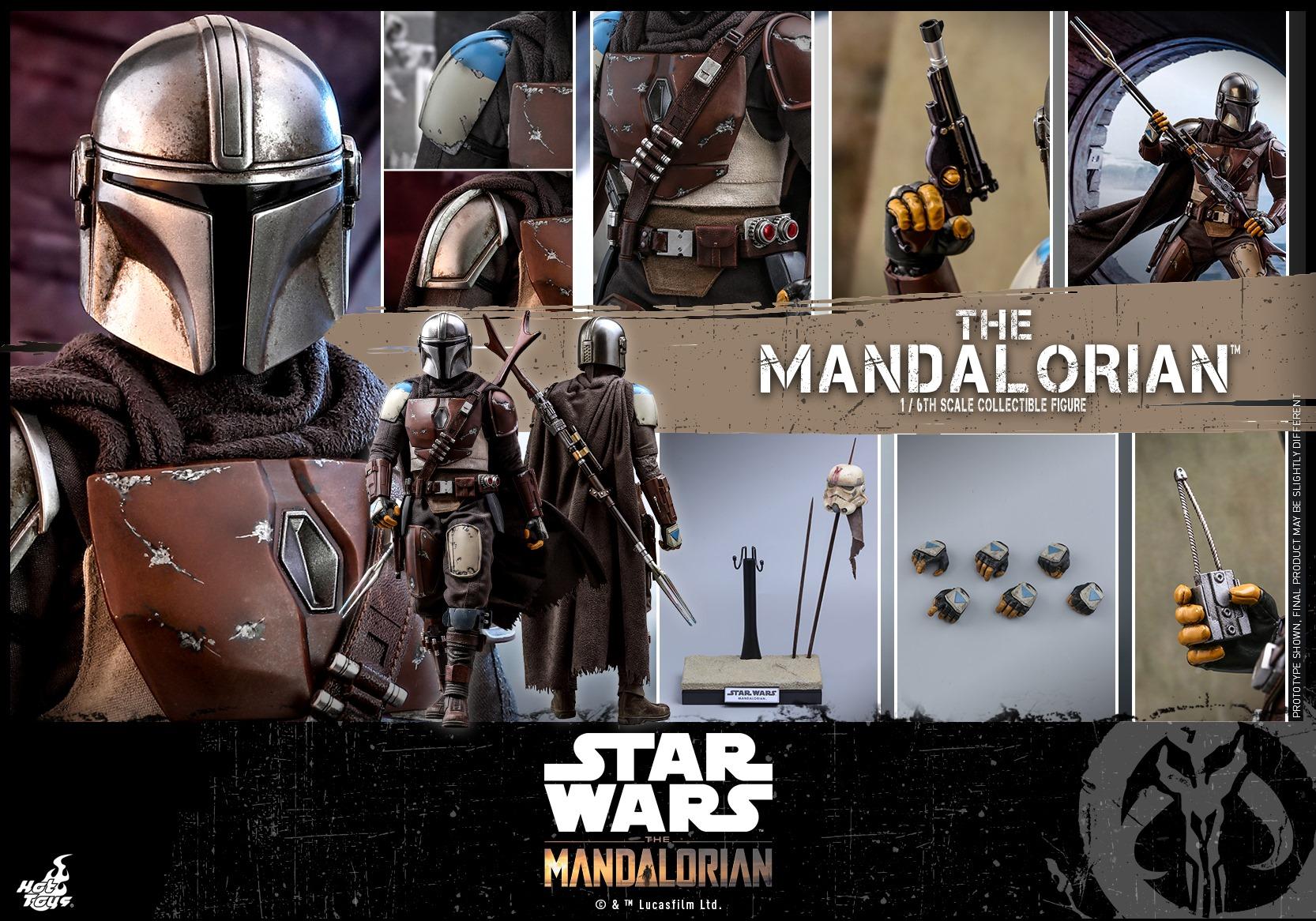 The Mandalorian - figurka Hot Toys