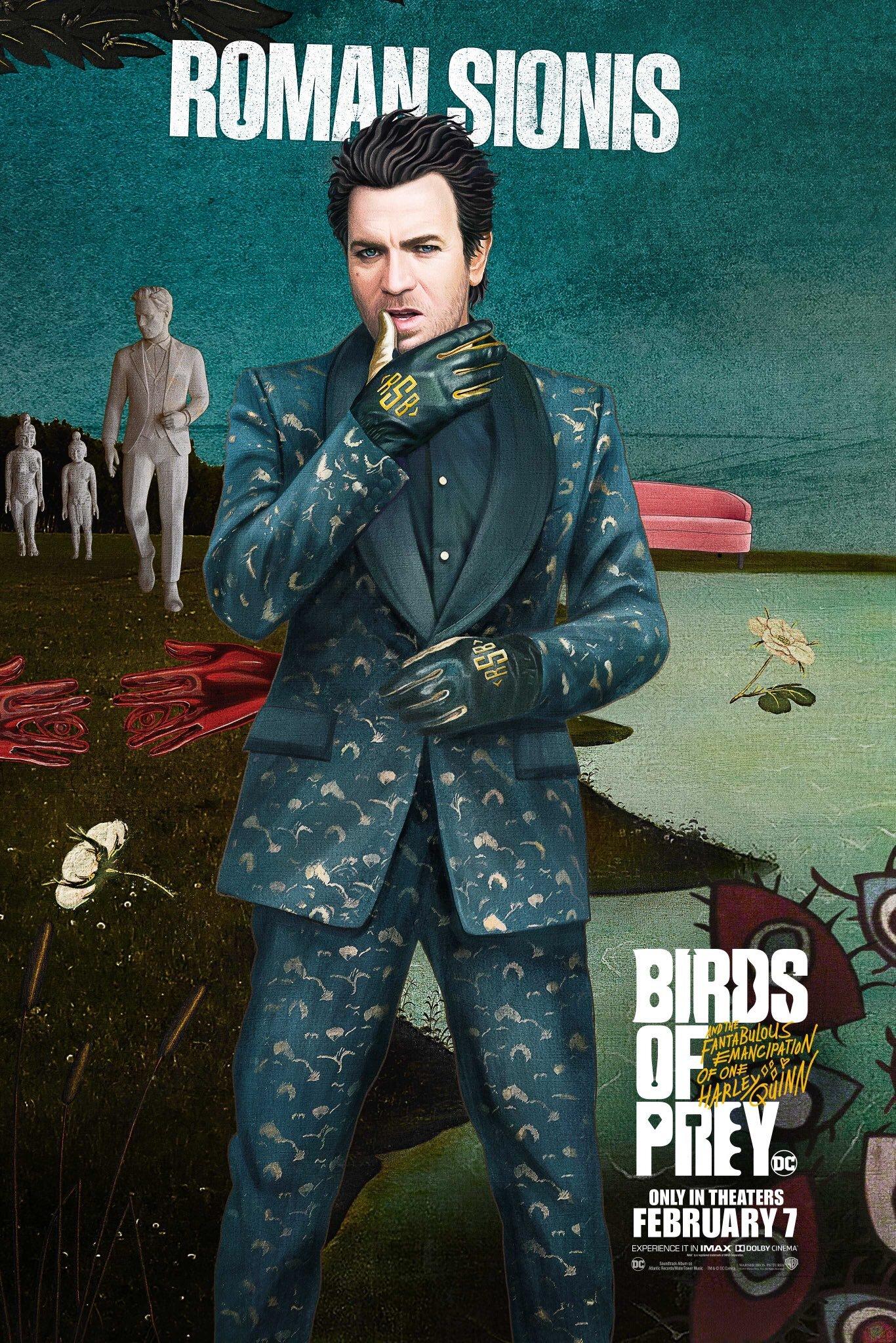 Ptaki Nocy - plakat