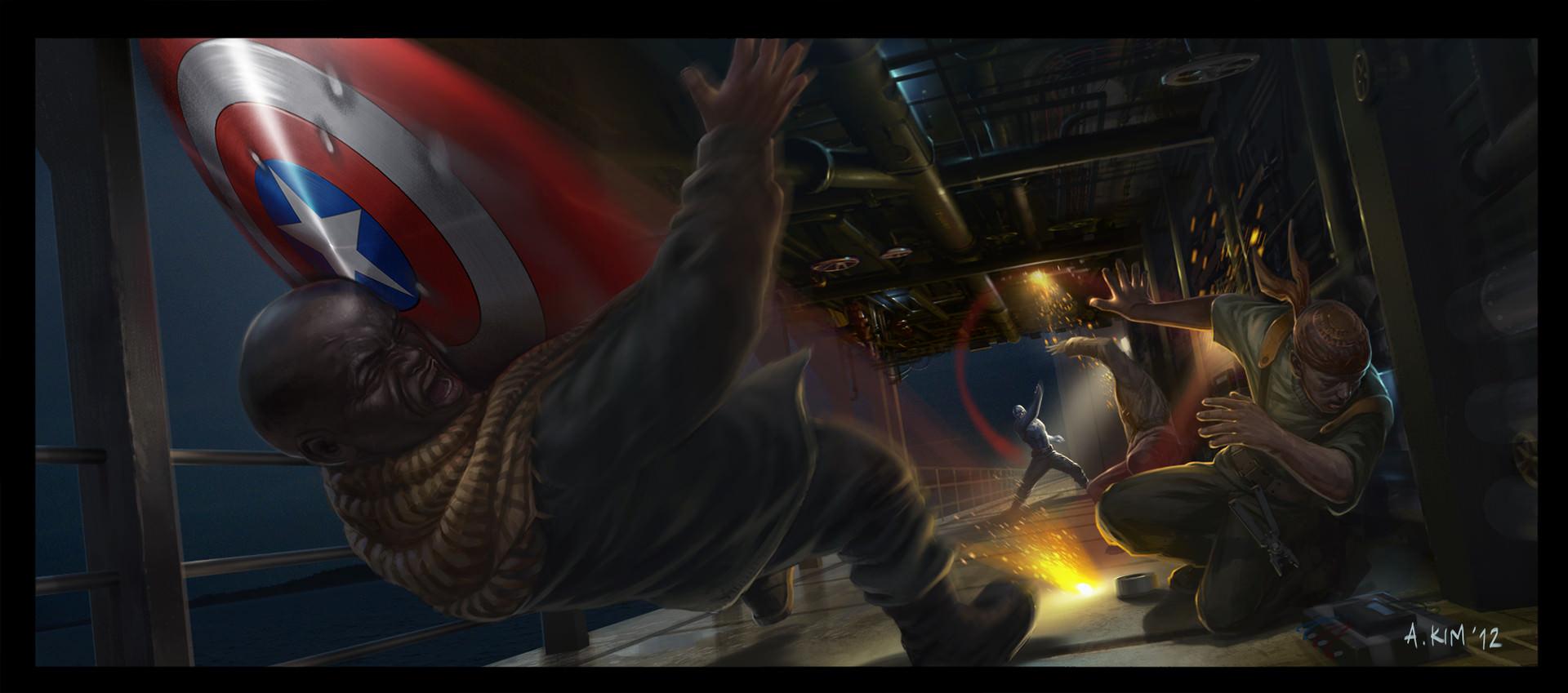 Kapitan Ameryka: Zimowy Żołnierz - szkice koncepcyjne