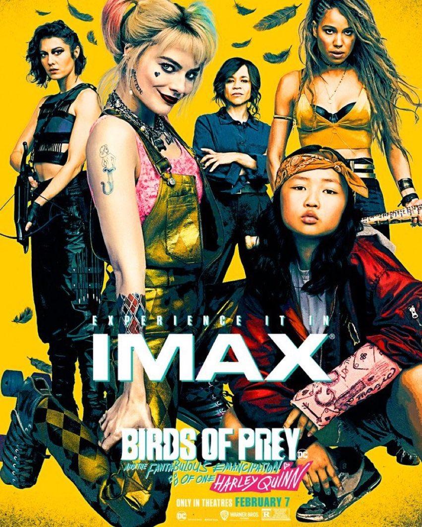 Ptaki Nocy - plakat IMAX