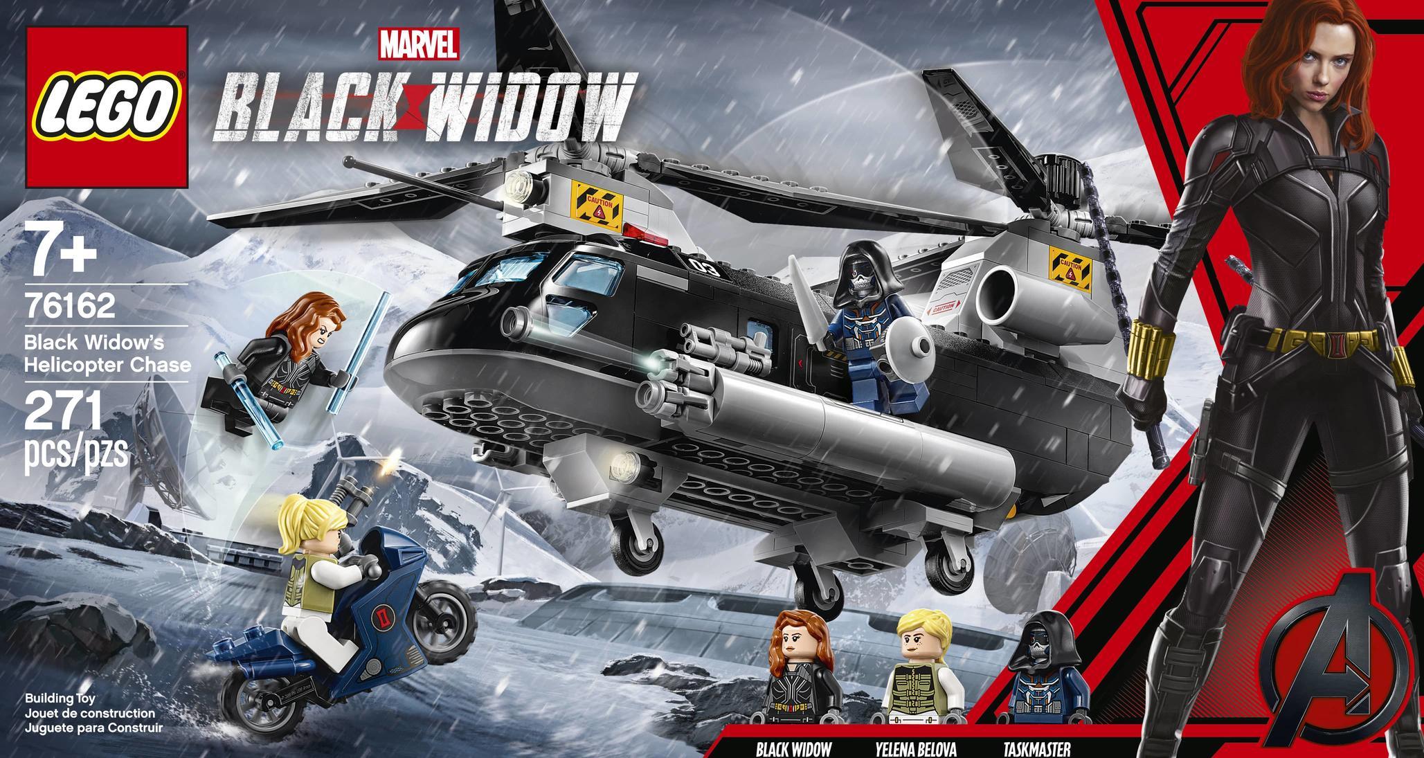 Czarna Wdowa - LEGO
