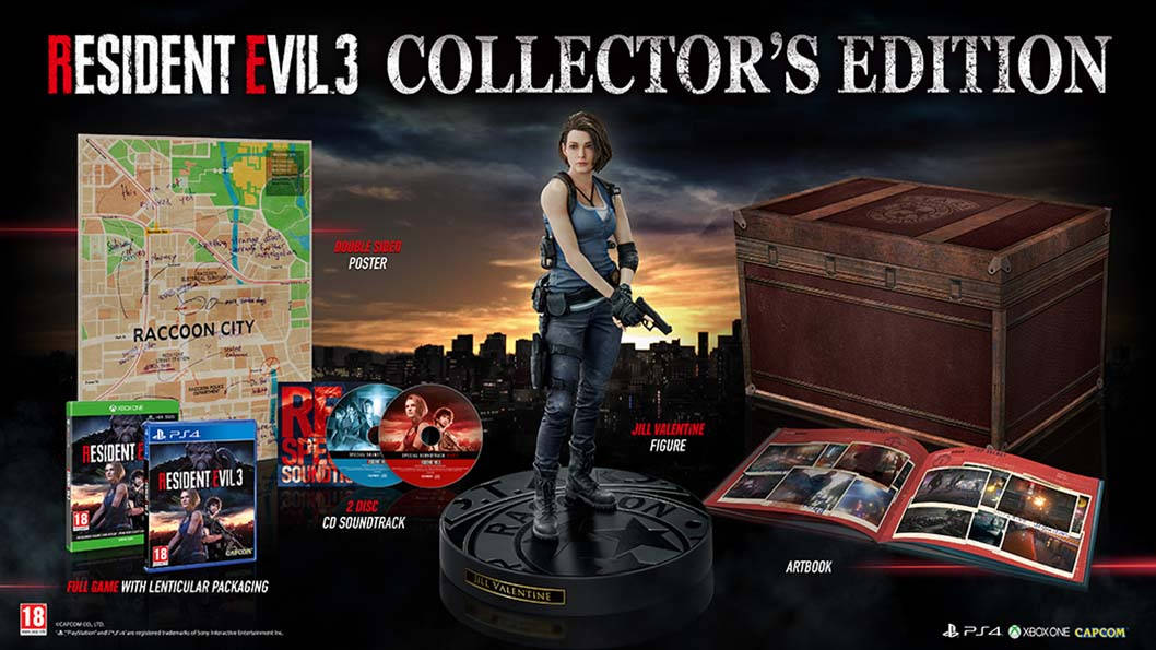 Resident Evil 3 - edycja kolekcjonerska