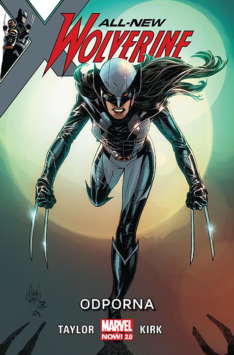 All-New Wolverine – Odporna, tom 4 okładka