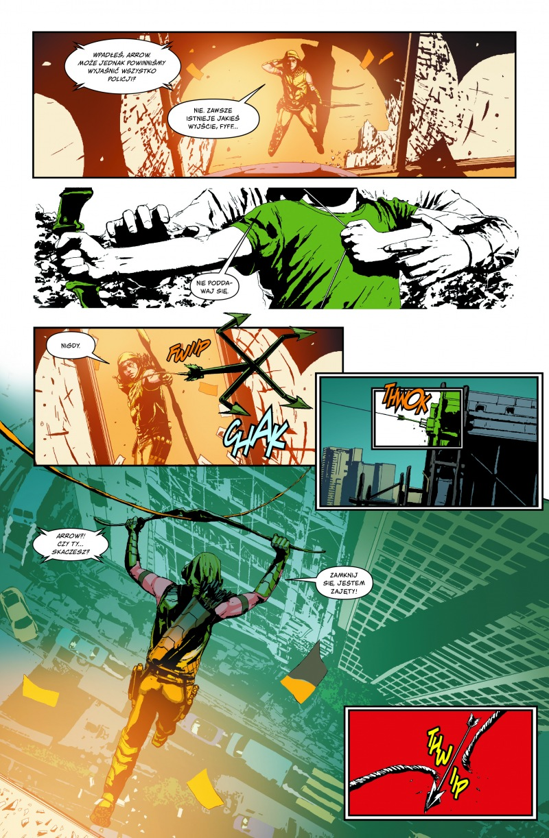 Green Arrow - plansze