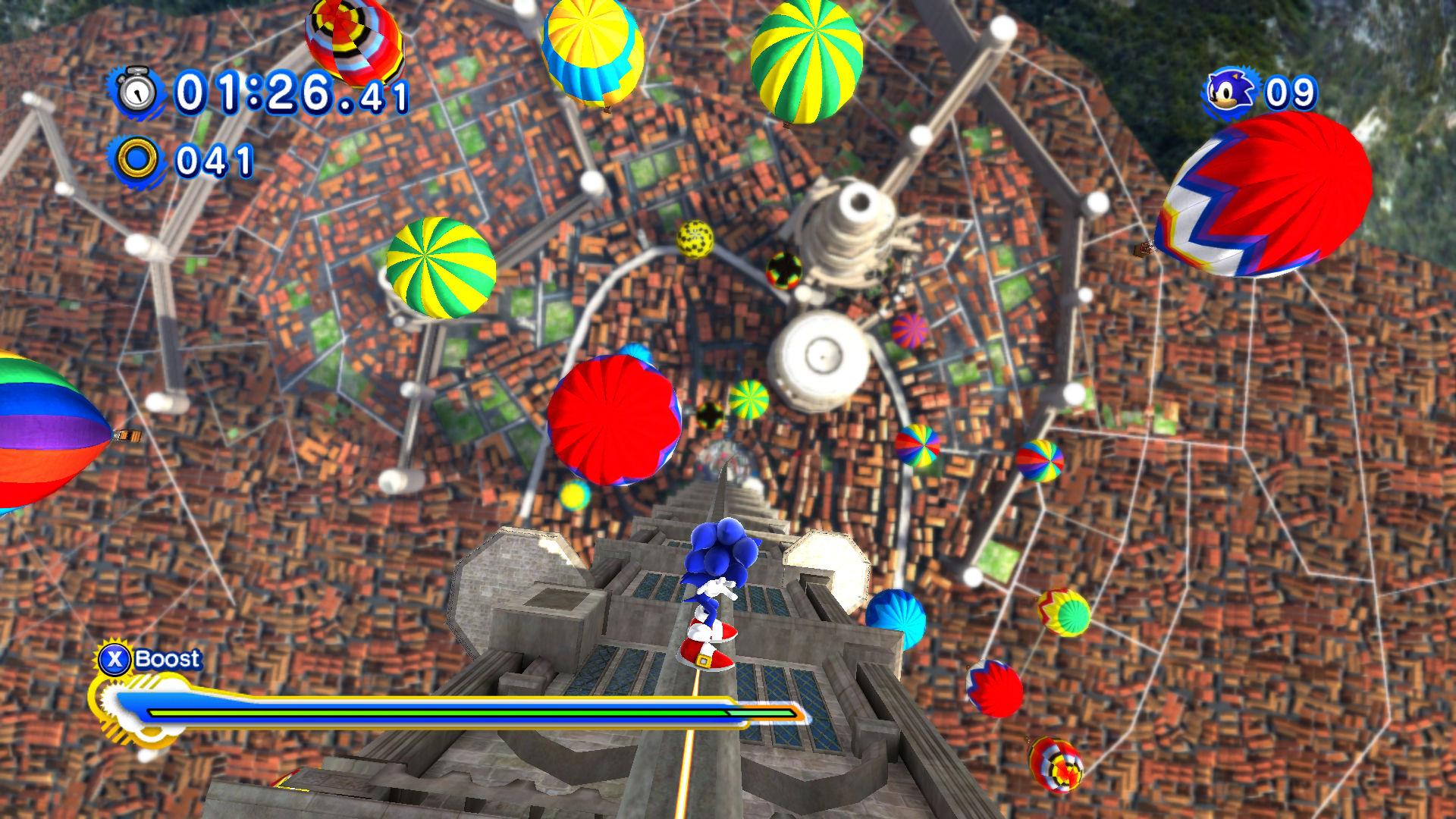 Sonic Generations - 77% na Metacritic