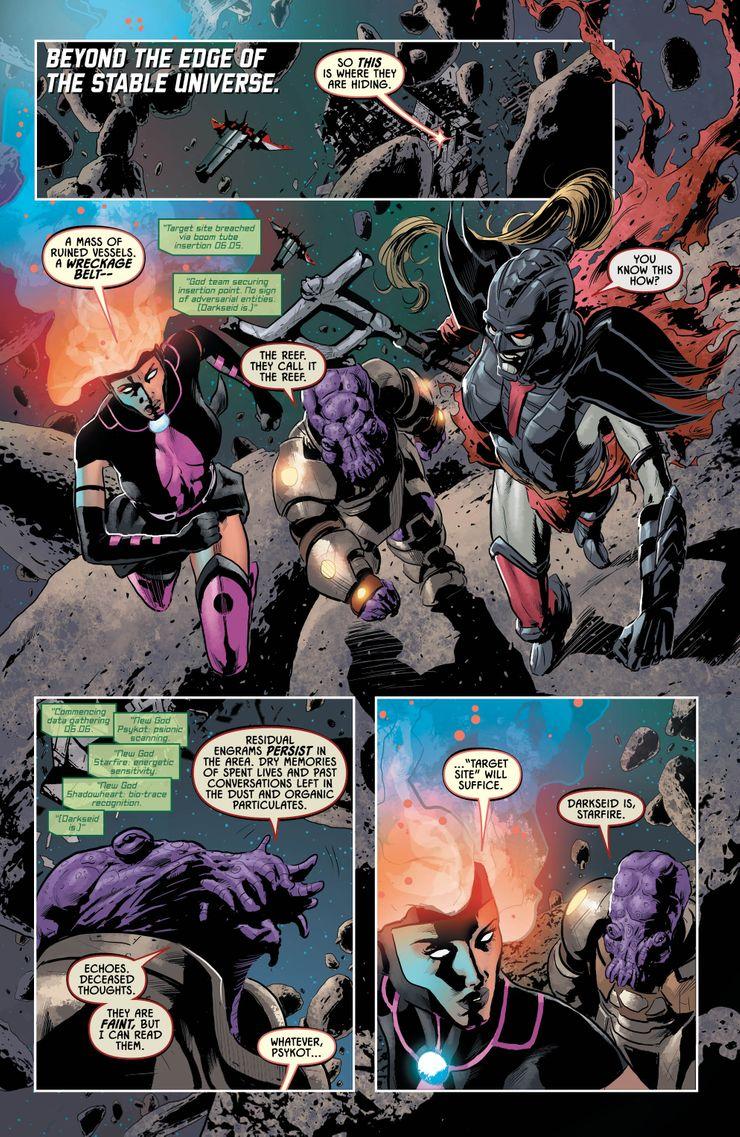 Justice League: Odyssey #19 - plansze