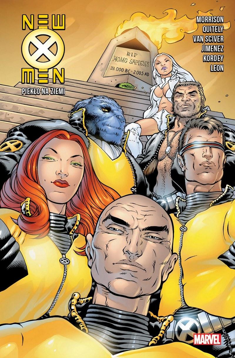 New X-Men. Tom 2. Piekło na Ziemi - okładka