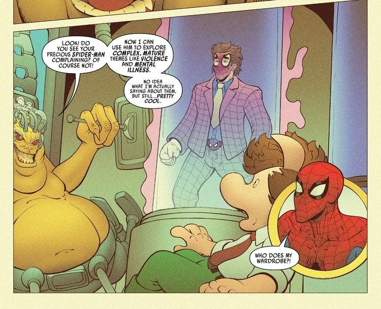 Spider-Ham #5 - plansze