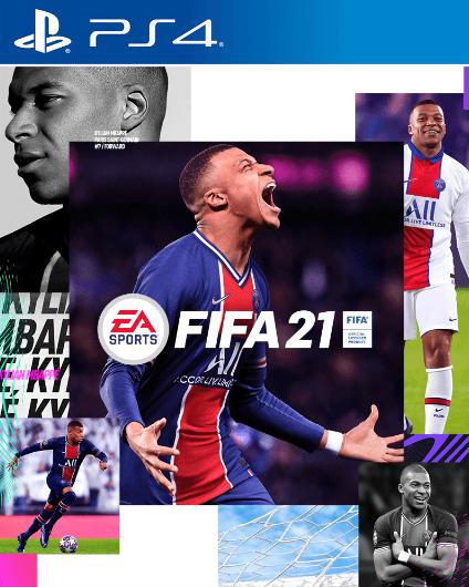 FIFA 21 Standard Edition - okładka gry