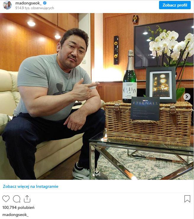 Ma Dong-seok - zdjęcia z okresu prac nad filmem