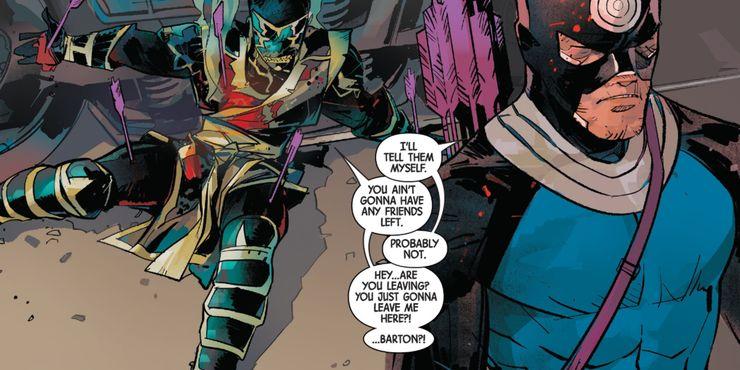Hawkeye: Freefall #6 - plansze