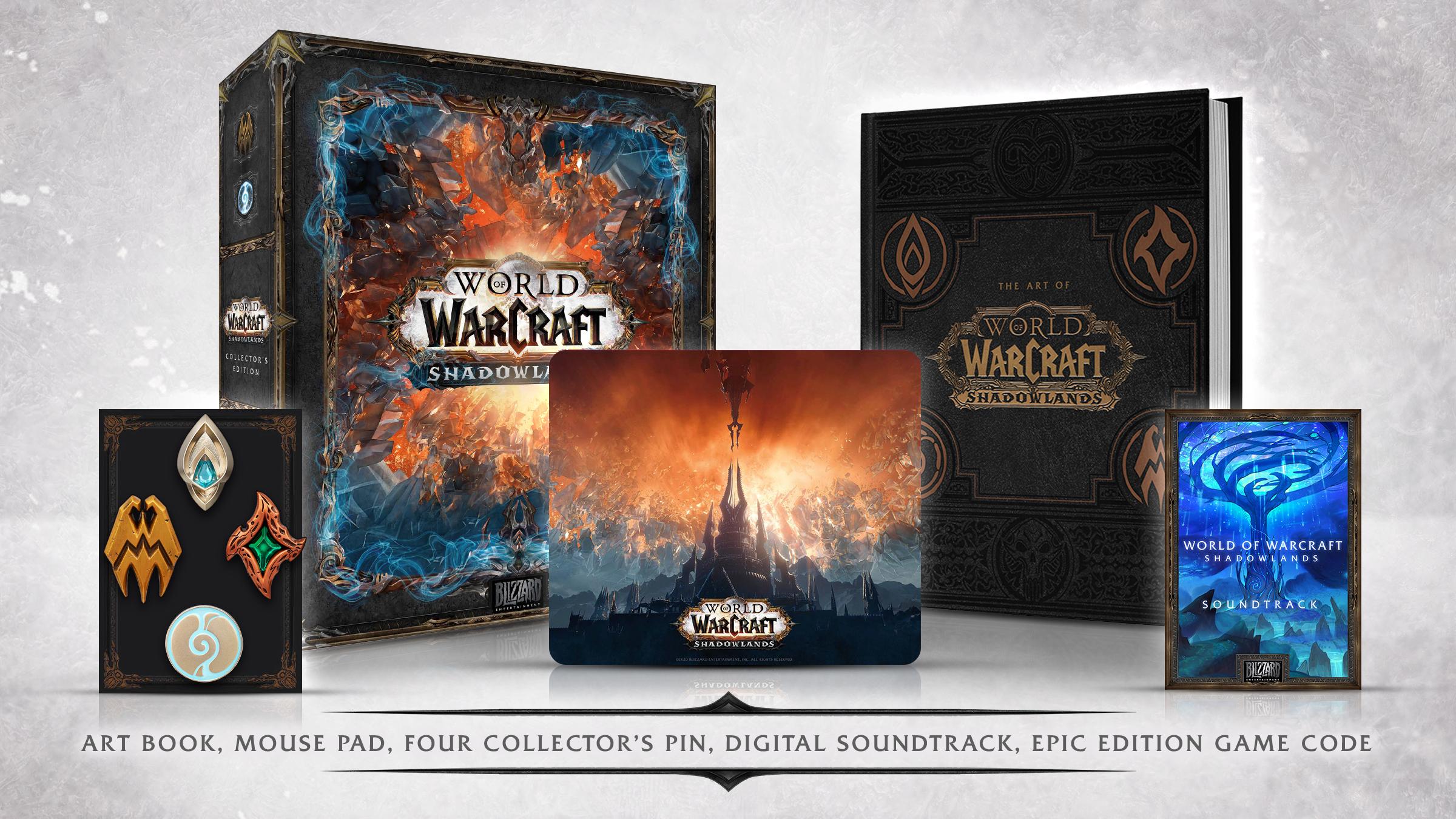 World of Warcraft: Shadowlands - edycja kolekcjonerska