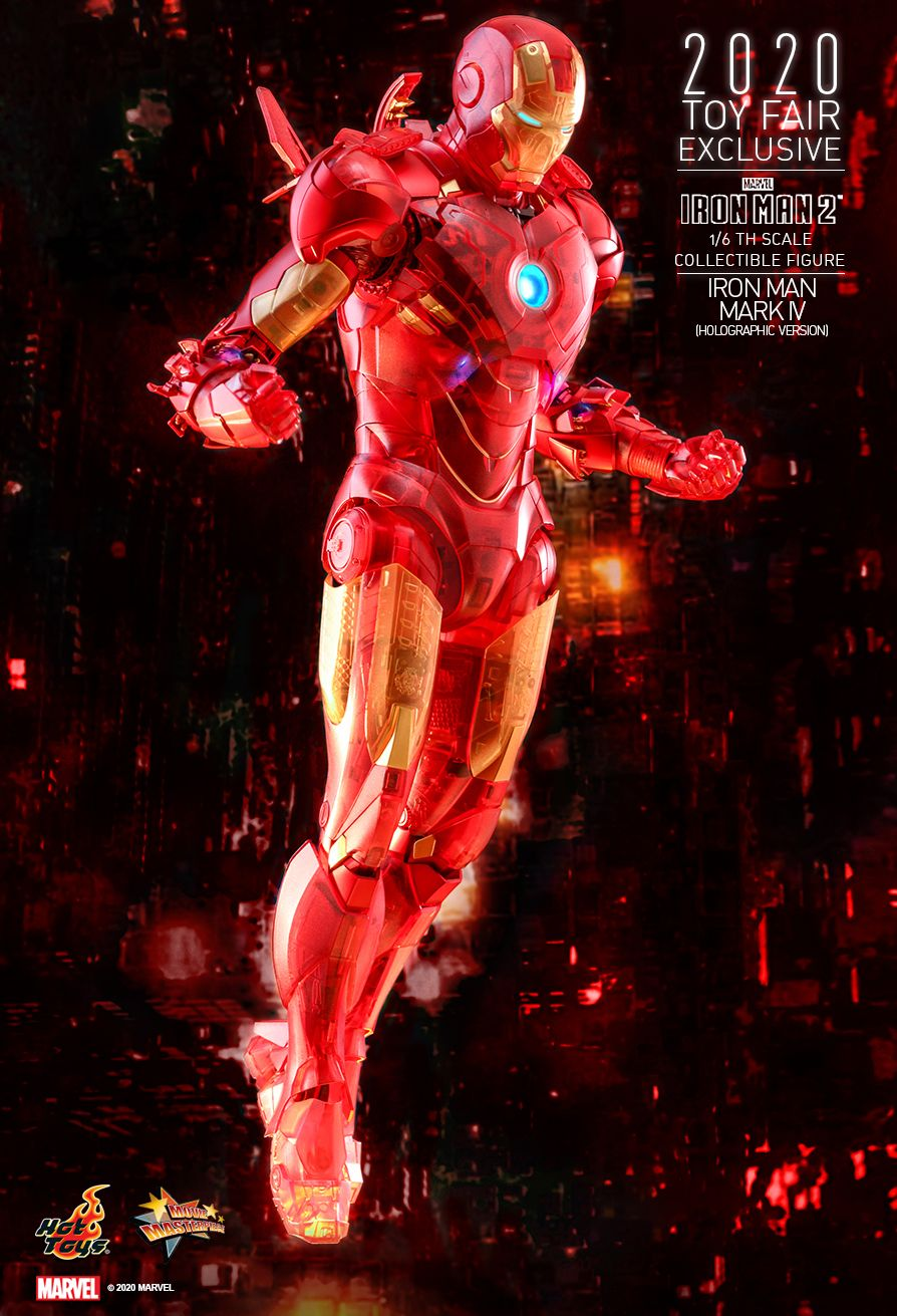 Iron Man Mark IV - figurka