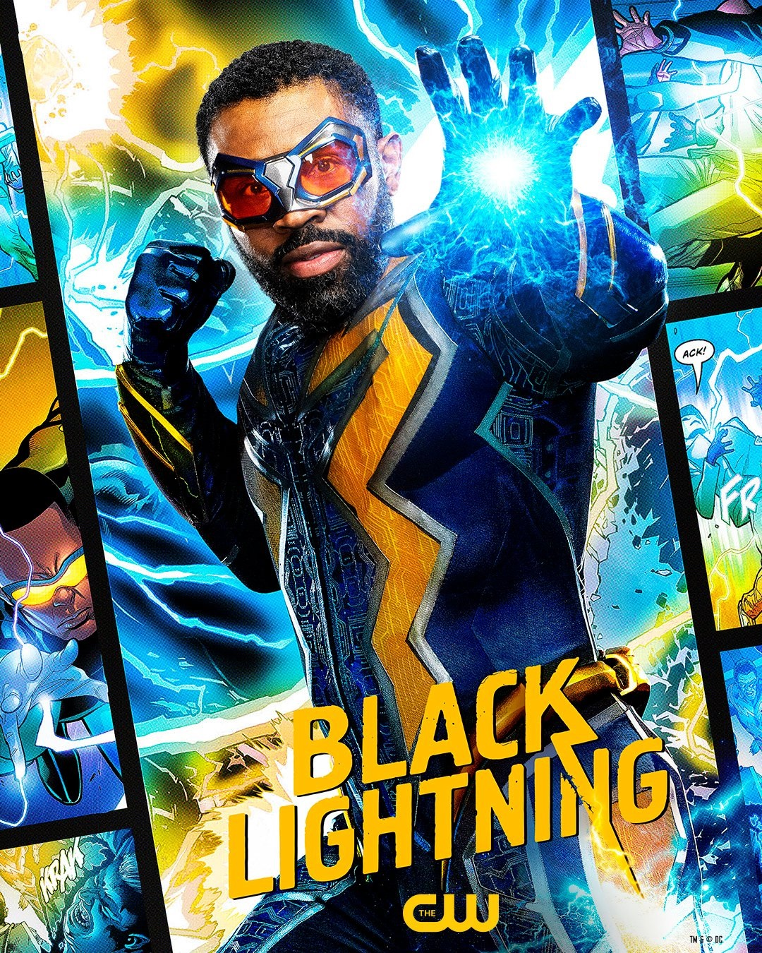 Black Lightning 4. sezon plakat
