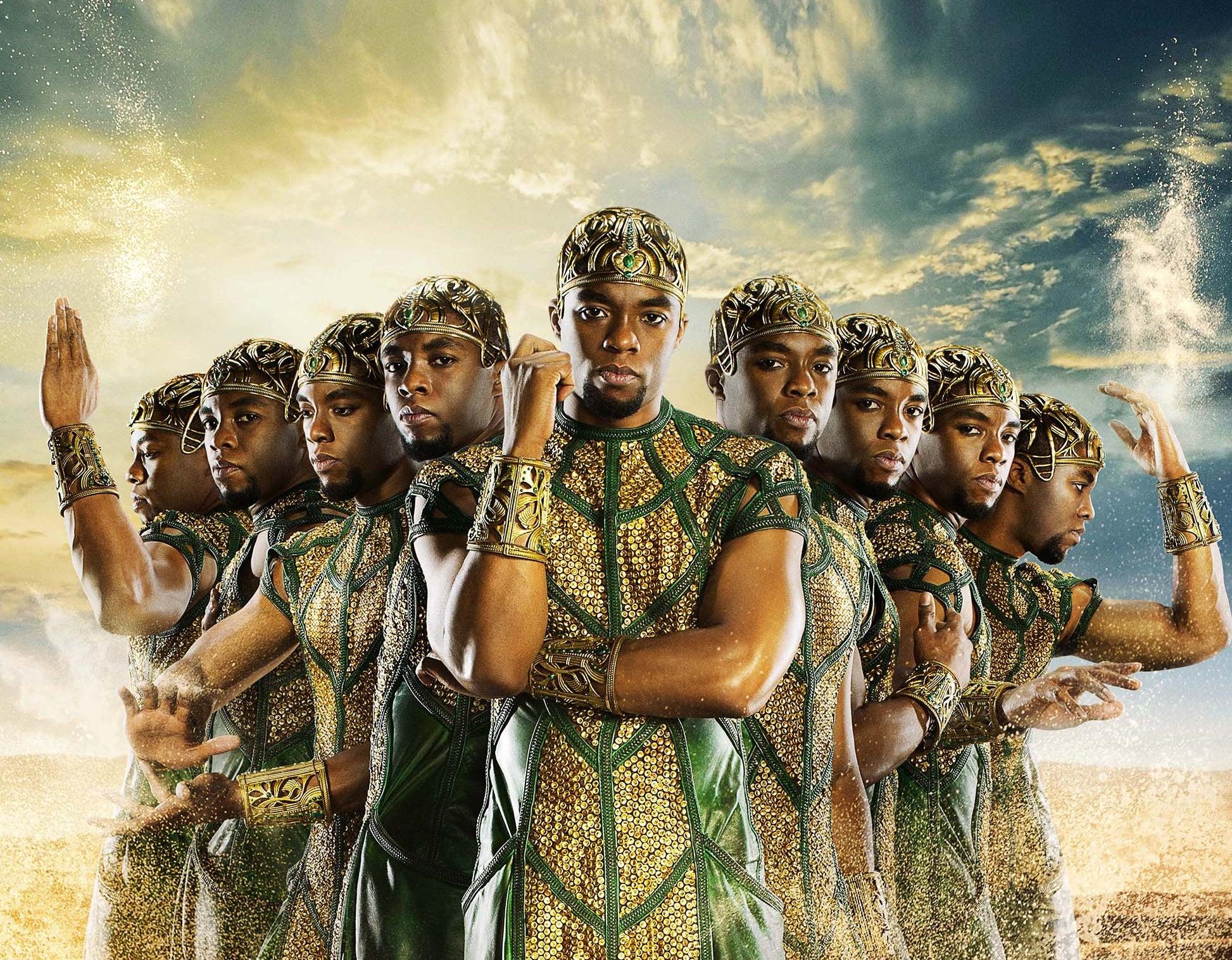 """Najważniejsze role Chadwicka Bosemana: 10. """"Bogowie Egiptu"""" - Tot"""