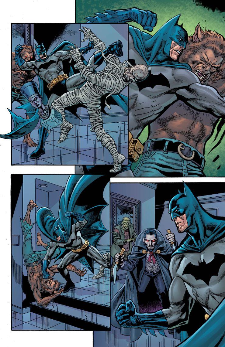 Detective Comics #1027 - plansze