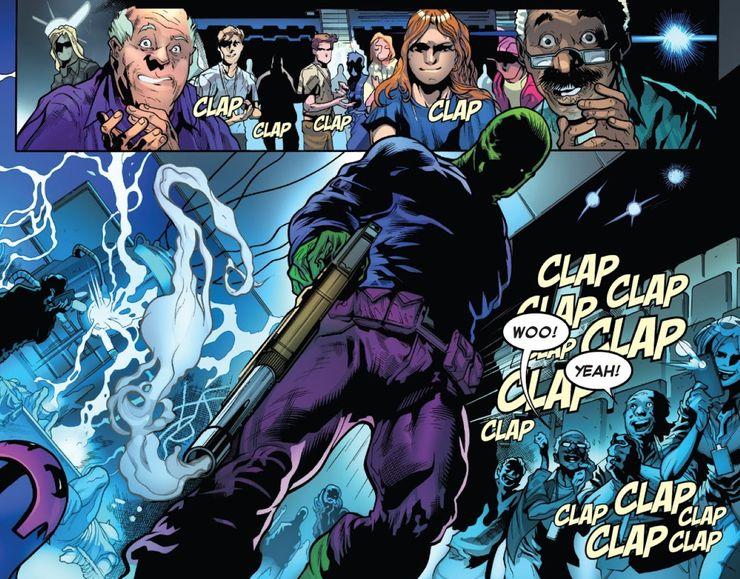 Amazing Spider-Man #46 - plansza