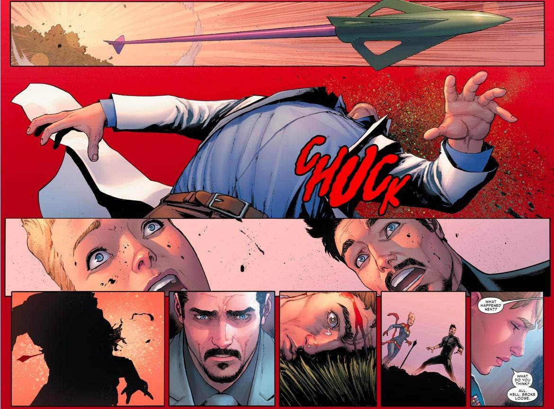 Hawkeye zabija Hulka