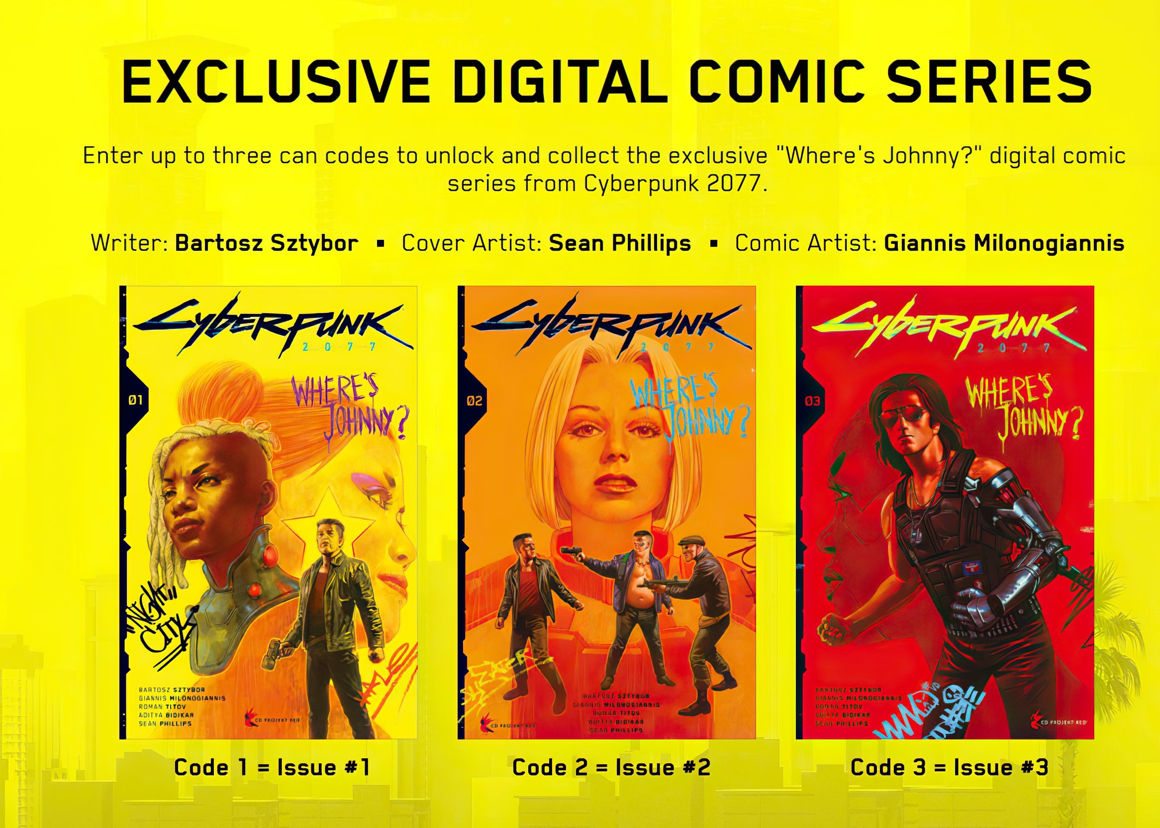 Cyberpunk 2077: Where's Johnny?