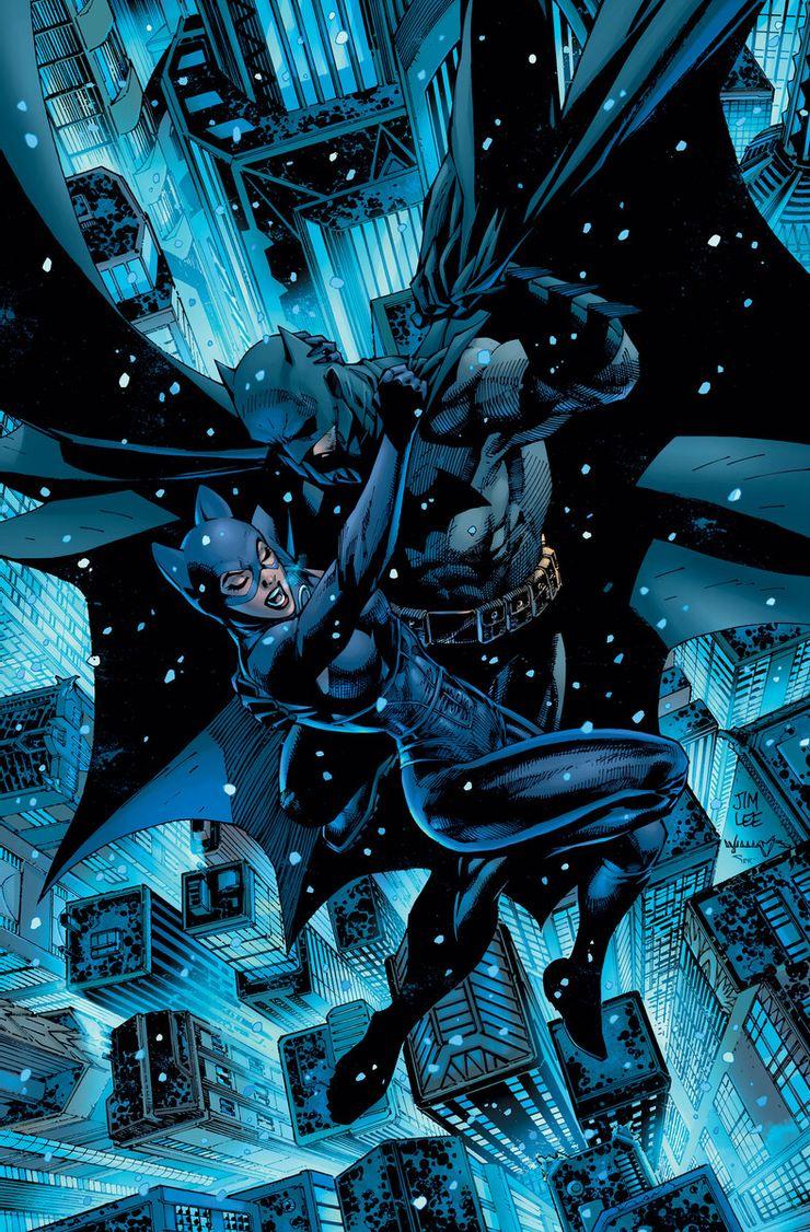 Batman/Catwoman #1 - okładka alternatywna
