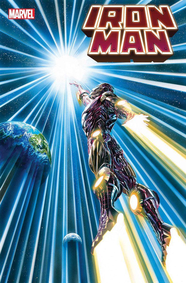 Iron Man #6 - okładka