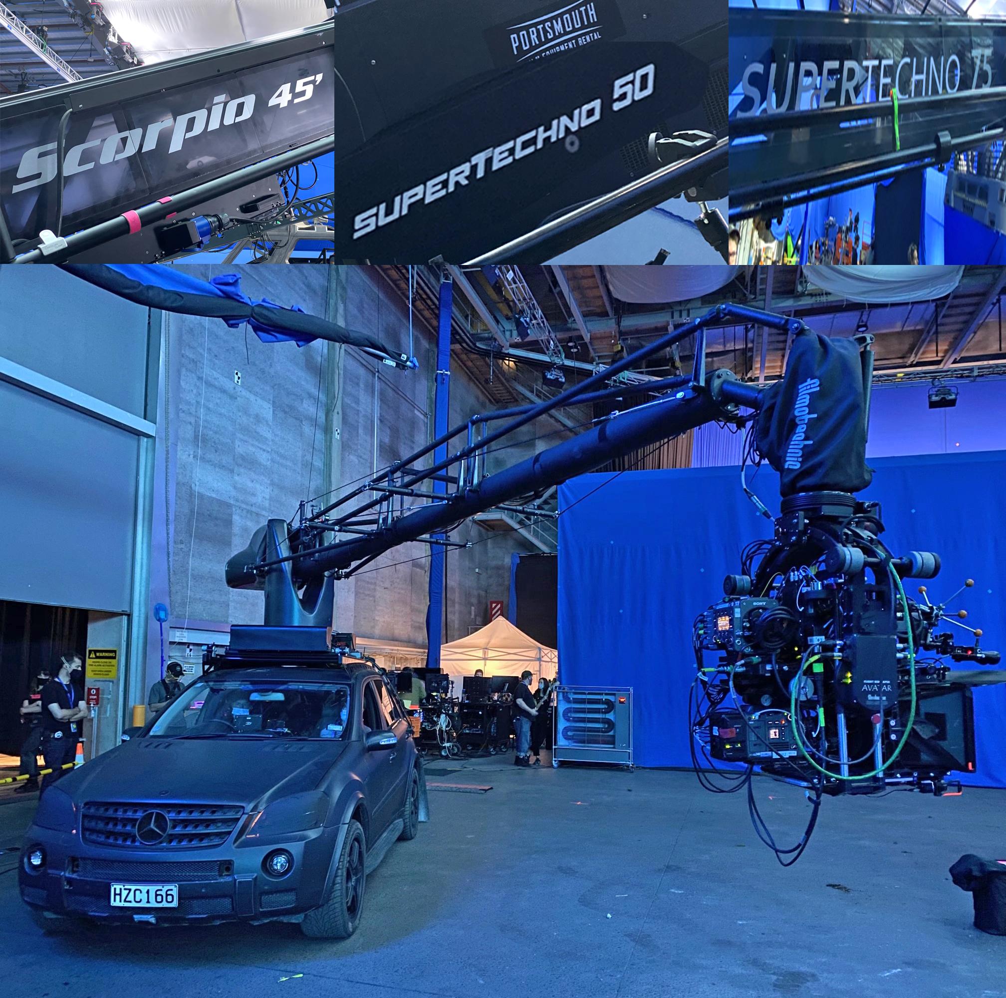 Avatar 2 zdjęcie z planu