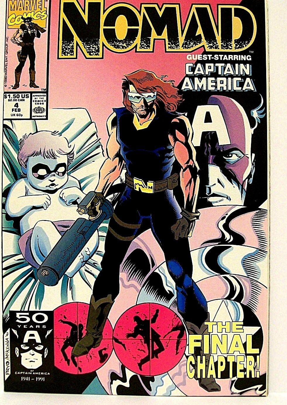 Steve Rogers jako Nomad w komiksach
