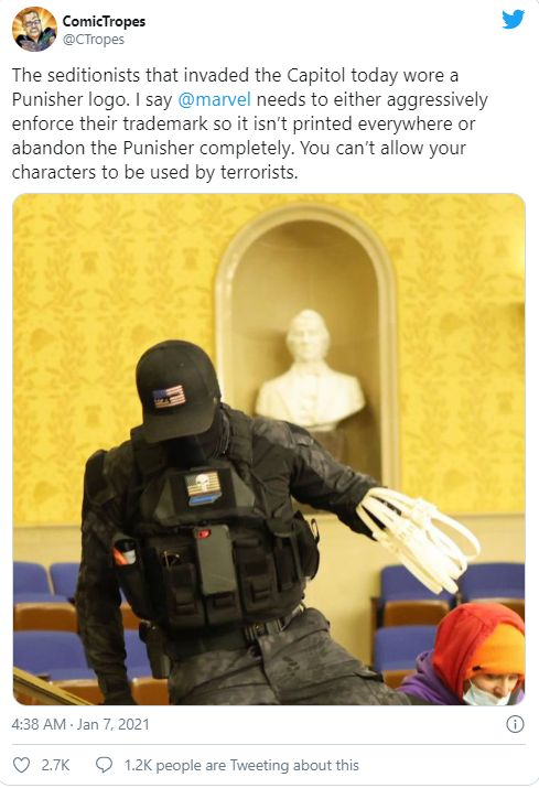 Komentarze po ataku na Kapitol