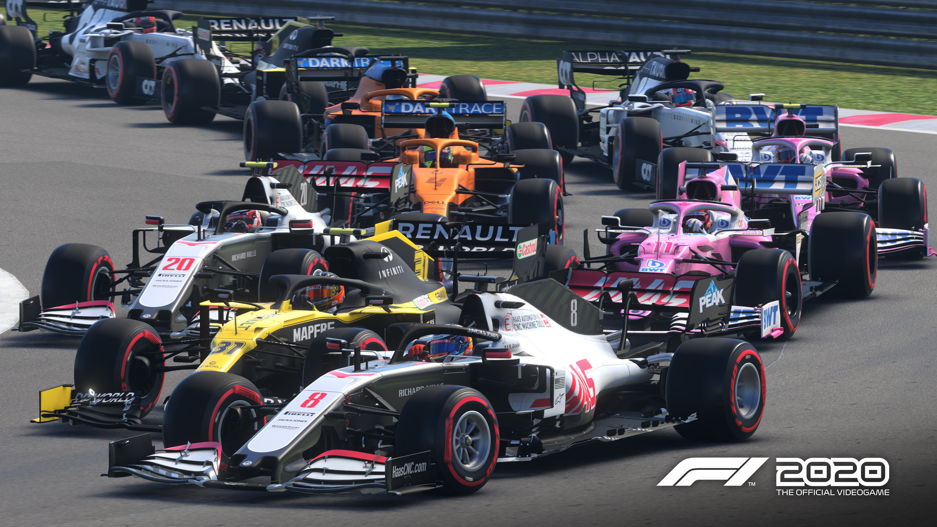 F1 2020 - średnia ocen 88/100