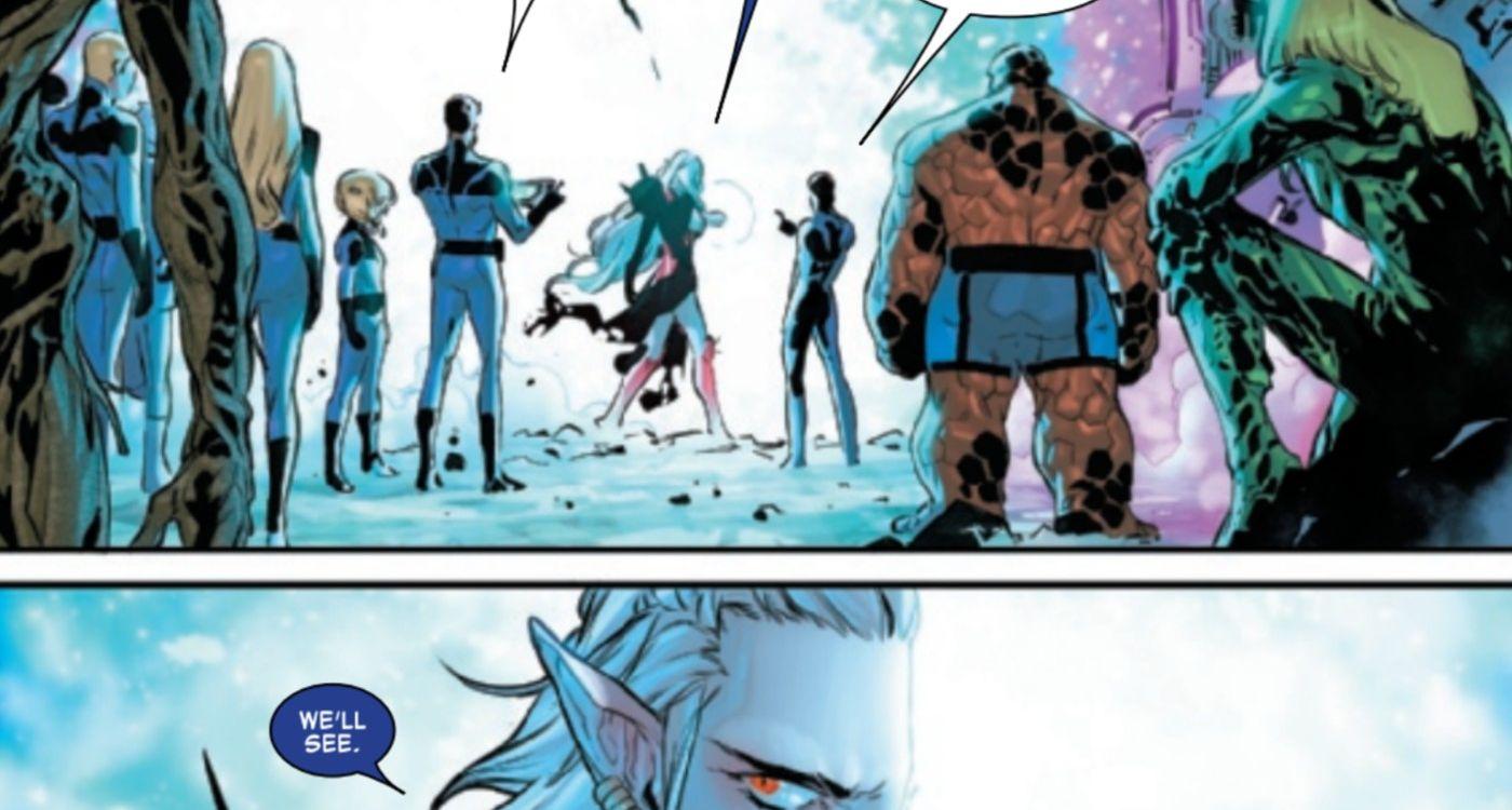 Fantastic Four #28 - plansze