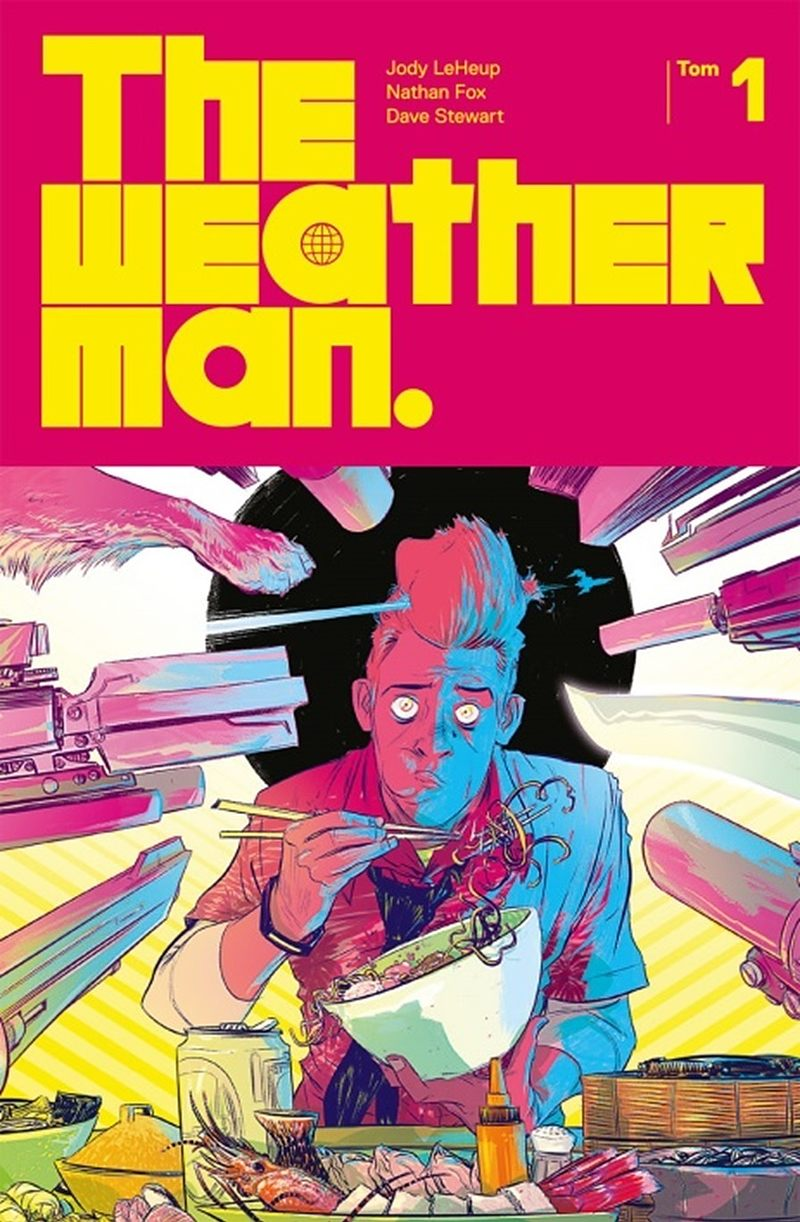 Weatherman. Tom 1 - okładka