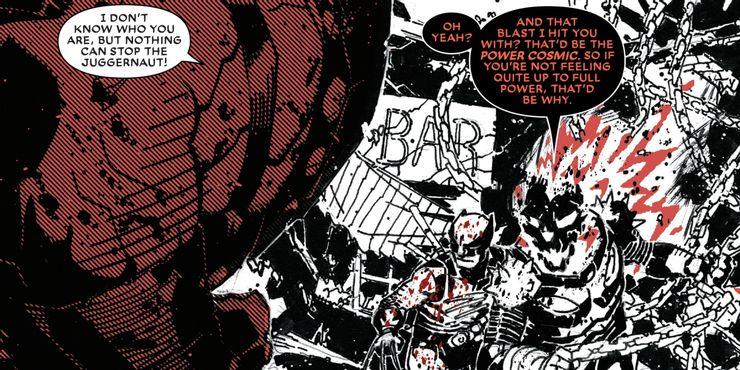 Wolverine: Black, White & Blood #3 - plansze