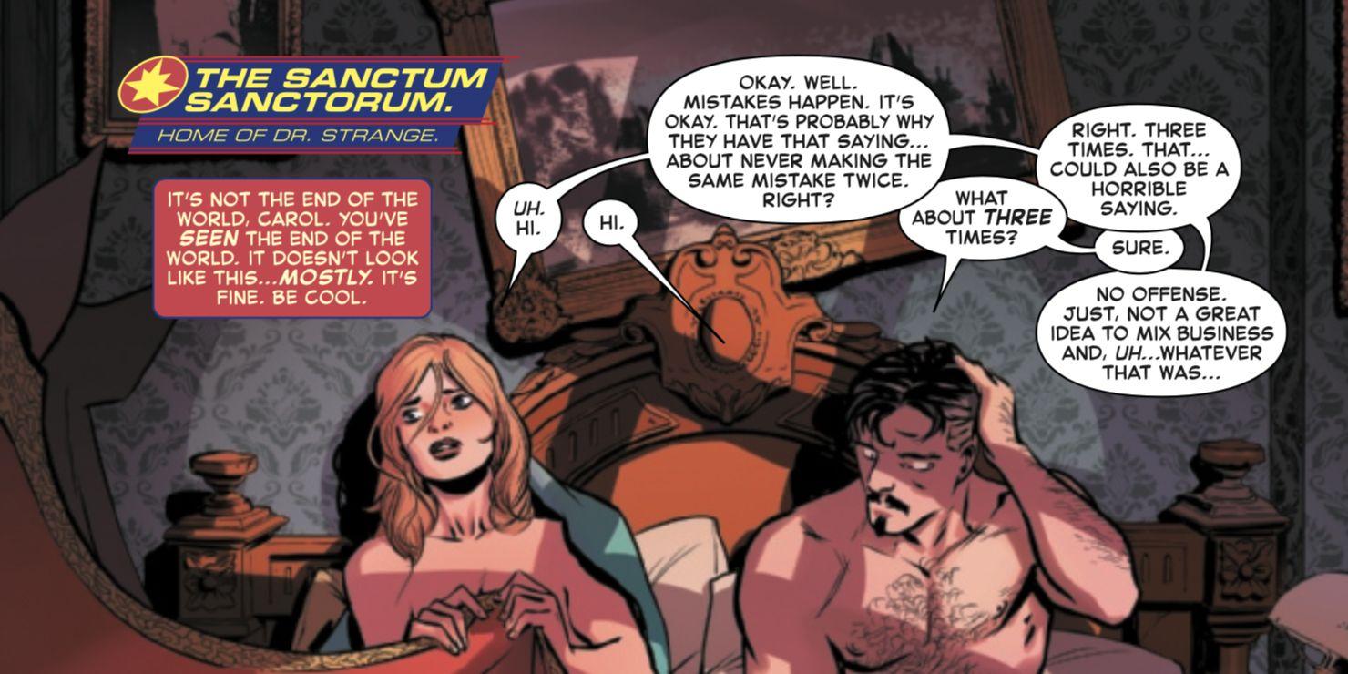 Captain Marvel #27 - plansze